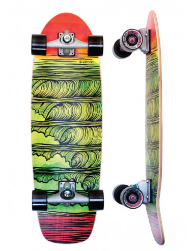 "carver skate stacked 31.25"" [complete]"