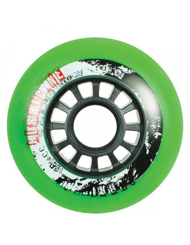 powerslide hurricane wheels green