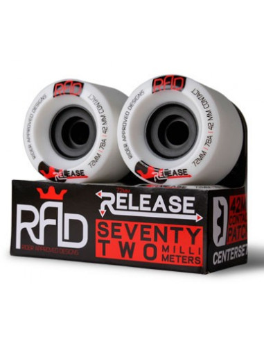 rad wheel release 72mm 78a