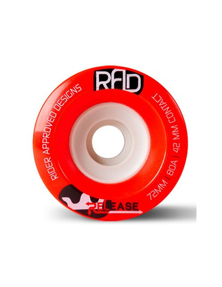 Venta rad wheels release 72mm 80a
