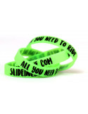 "PULSERA SLIDE ""GLOW IN THE DARK"""