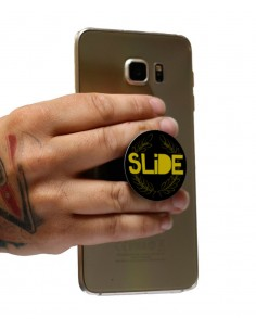 SLIDE PHONE GRIP LOGO