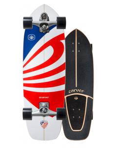 "CARVER USA BOOSTER 30.75"" SURF SKATE COMPLETO"