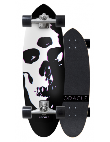 "carver oracle 31"" complete surf skate"
