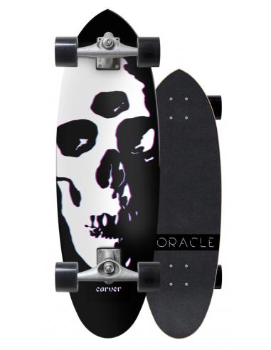 """carver oracle 31"""" surf skate completo"""