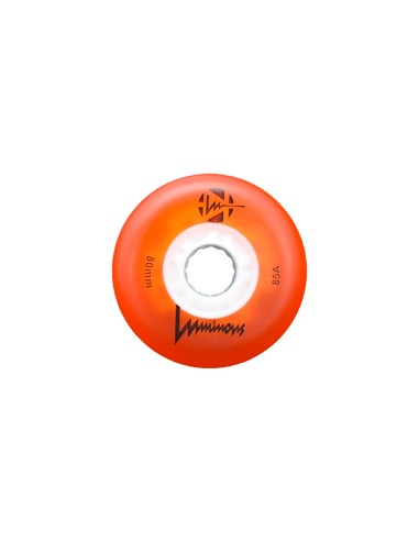 luminous wheel orange
