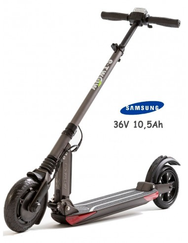 e-twow booster v s2 samsung 10.5 ah grey - electric scooter