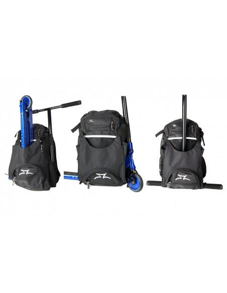 Venta ao scooter transit backpack black - white