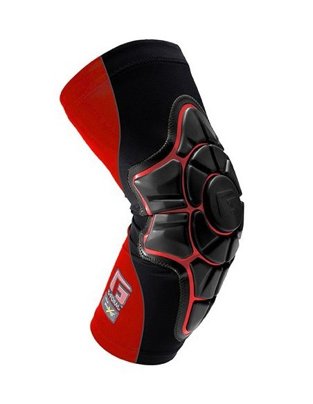 g-form pro-x elbow black - red