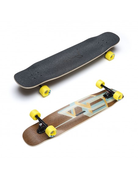 "loaded basalt tesseract mango 39"" complete longboard"