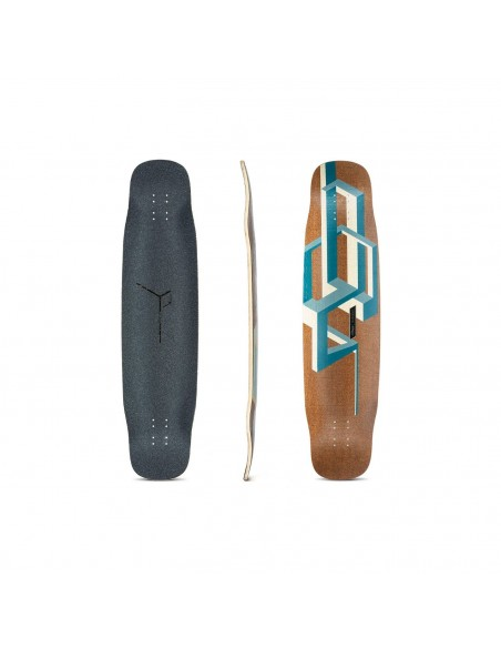 "Comprar loaded basalt tesseract dark blue 39"" complete longboard"