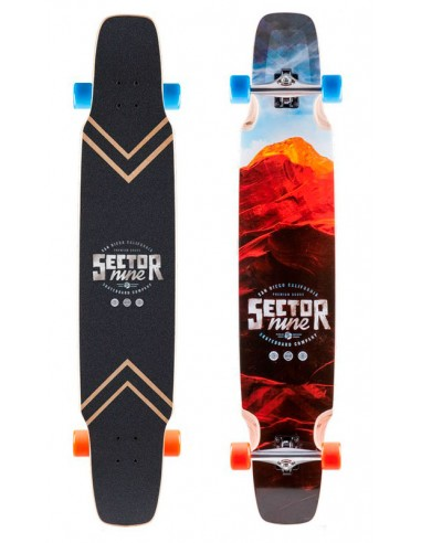 "sector 9 lockstep 48"" complete longboard"