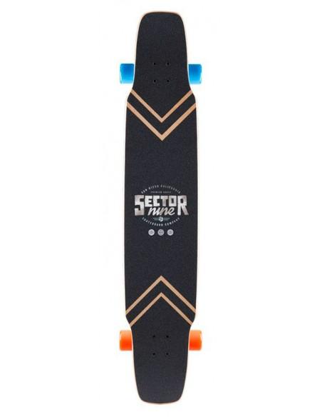 "Venta sector 9 lockstep 48"" complete longboard"