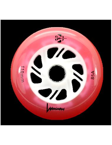 ruedas luminous 110mm 85a rojo [unidad]