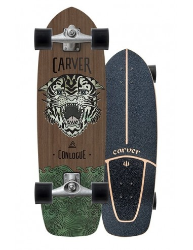 "carver conlogue sea tiger 29.5"" complete surf skate"