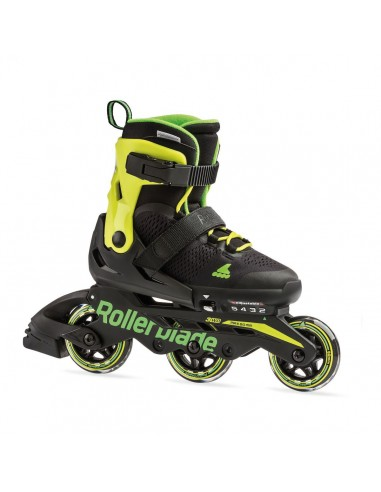rollerblade microblade 3wd black-lima