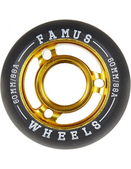 famus wheels fast agressive 60mm 88a - 4pack