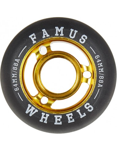 famus wheels fast agressive 64mm 88a - 4pack