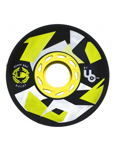 undercover fsk wheels 80mm 88a slide edition - 4 pack