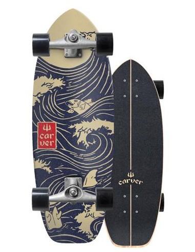 """carver snapper 28"""" complete surf skate"""