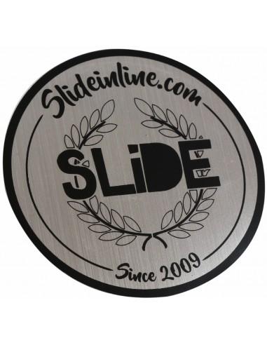 sticker circle slide chrome