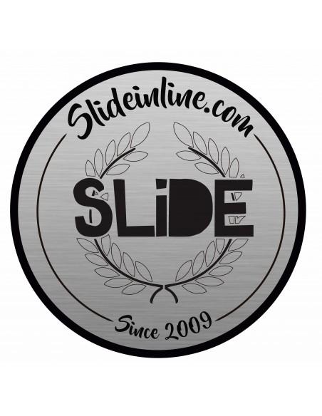Comprar sticker circle slide chrome