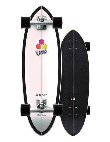 "carver ci black beauty 31.75"" complete surf skate"