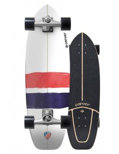 "CARVER USA THRUSTER 32.25"" - SURF SKATE COMPLETO"