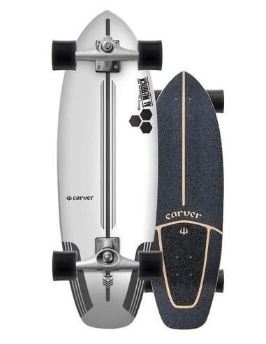 """carver ci flyer 30.75"""" complete surf skate"""