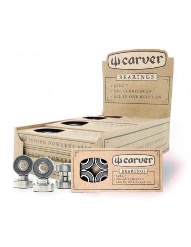 carver abec 7 built-in bearings | 8 pack