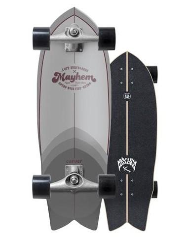 "lost x carver nrf retro 29.5"" complete surf skate"