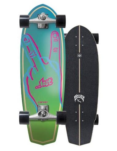"""lost x carver plank 31"""" complete surf skate"""
