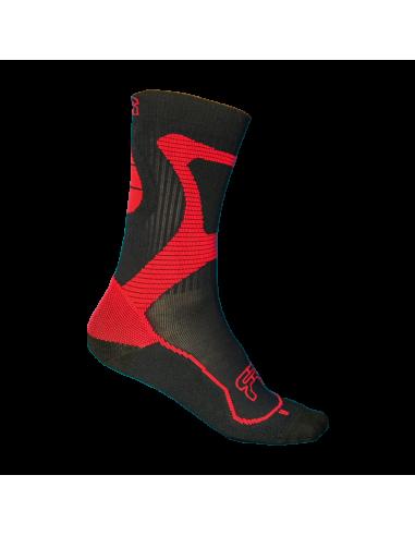 fr - nano sport socks red-black