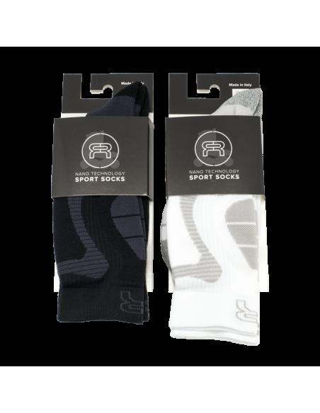 Comprar calcetines fr - nano sport socks rosa-blanco