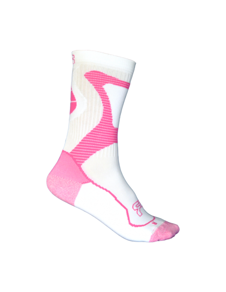 fr - nano sport socks pink-white