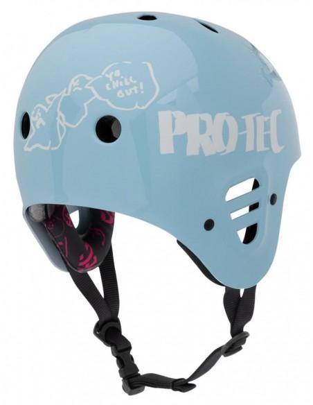 Venta pro-tec full cut helmet gonz 2 light blue