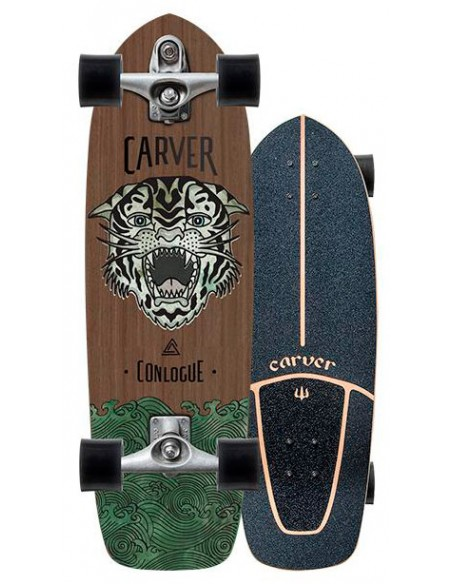 "Comprar carver conlogue sea tiger 29.5""   surf skate"