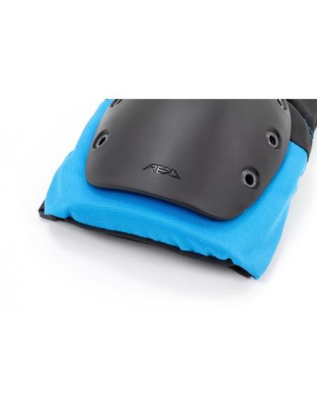 Comprar rodilleras rekd pads negro-azul