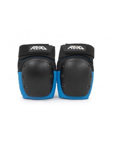 rodilleras rekd pads negro-azul