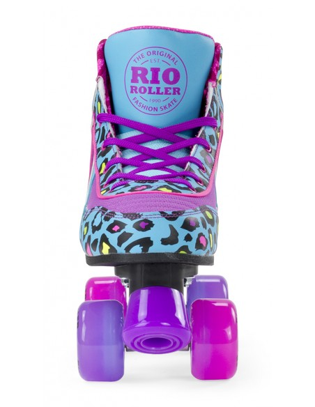 Tienda de rio roller leopard quad skates | patines 4 ruedas
