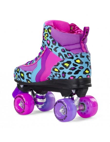 Producto rio roller leopard quad skates | patines 4 ruedas