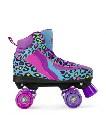 Venta rio roller leopard quad skates | patines 4 ruedas