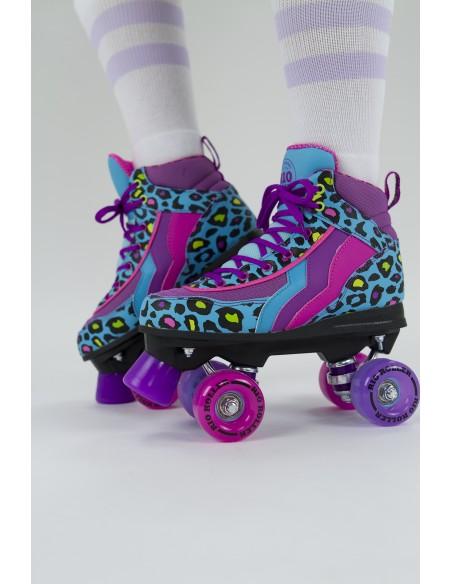 Adquirir rio roller leopard quad skates | patines 4 ruedas