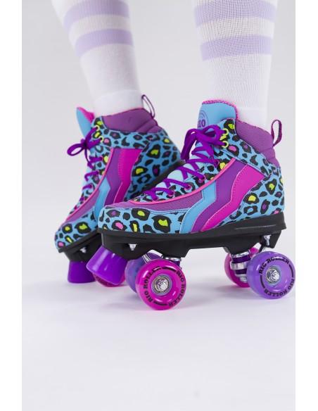 Opinión de rio roller leopard quad skates | patines 4 ruedas