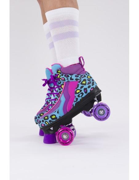 Características rio roller leopard quad skates | patines 4 ruedas