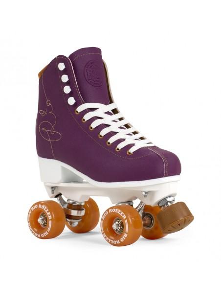 rio roller signature morado | patines 4 ruedas