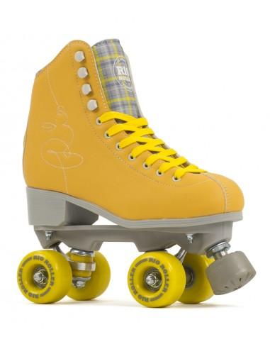 rio roller signature amarillo   patines 4 ruedas