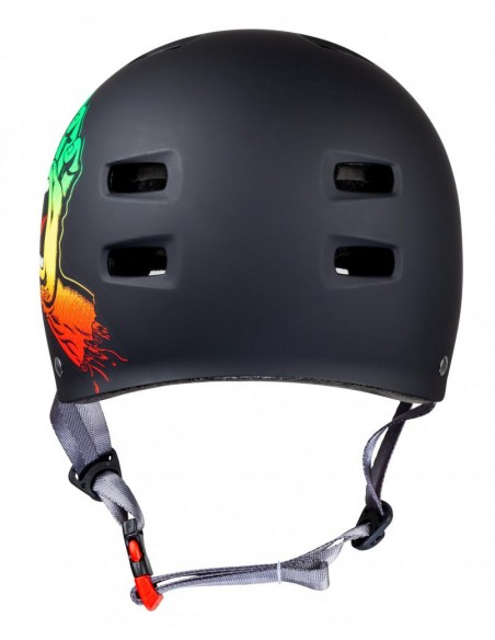 Venta casco bullet x santa cruz helmet | screaming hand rasta
