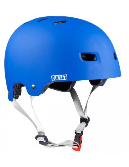 Comprar casco bullet x santa cruz helmet   classic dot azul mate