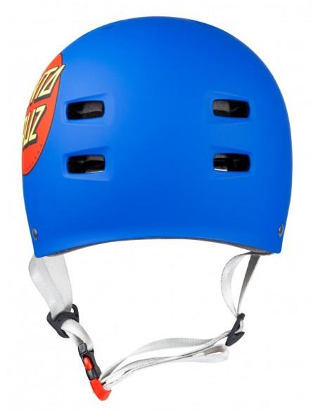Venta casco bullet x santa cruz helmet   classic dot azul mate